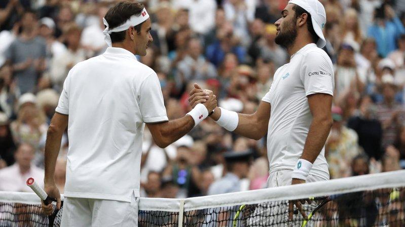 Face à Roger Federer, le colosse de Rome s'est désintégré