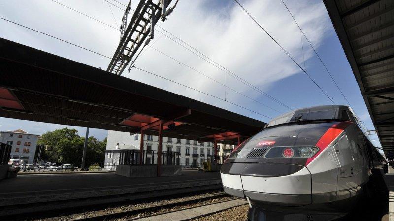 Trafic ferroviaire: les TGV entre Genève et Paris supprimés jusqu'à dimanche à cause de la chaleur