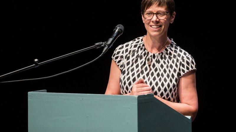Anne Challandes, présidente de l'Union suisse des paysannes et des femmes rurales.
