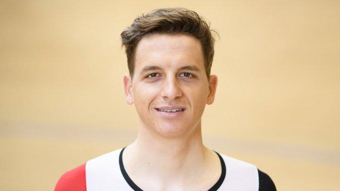 Théry Schir a remporté dimanche la médaille d'argent de l'omnium aux Jeux européens de Minsk. (Archives)