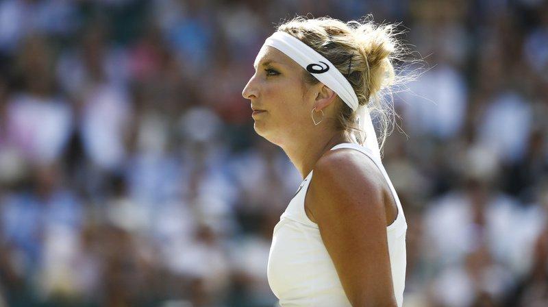 Tennis - Wimbledon: Timea Bacsinszky sortie d'entrée du tournoi de Londres