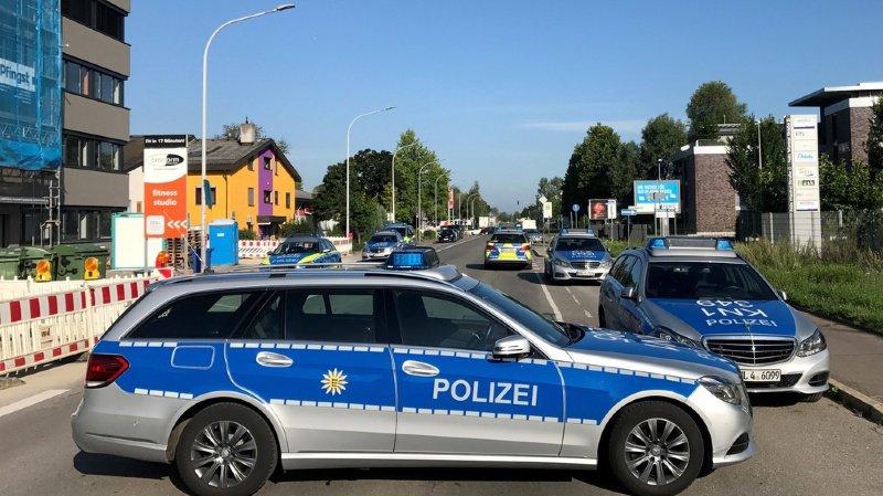 Infractions routières: un Allemand de 65 ans recherché après une course-poursuite en Suisse