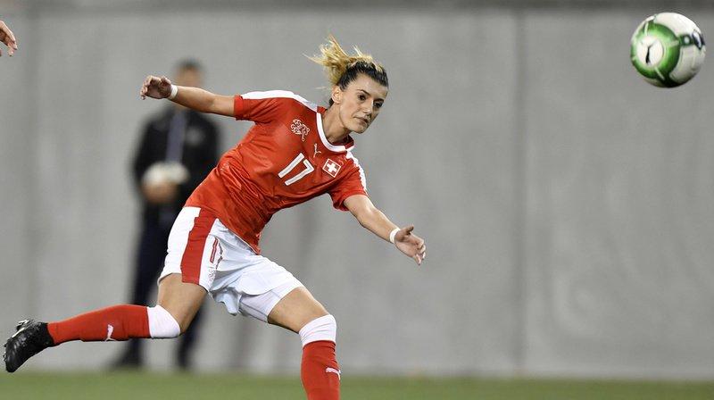 La joueuse de l'équipe suisse Florijana Ismaili était en vacances en Italie avec une amie.