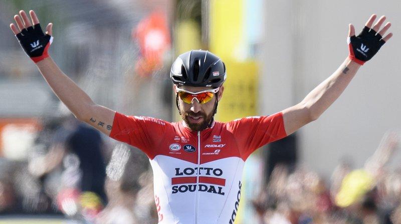 Cyclisme - Tour de France: la 8e étape pour De Gendt, Alaphilippe en jaune