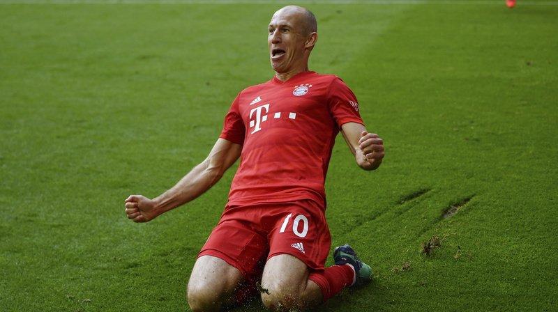 Le Néerlandais de 35 ans n'a pas souhaité prolonger l'aventure avec le Bayern Munich.