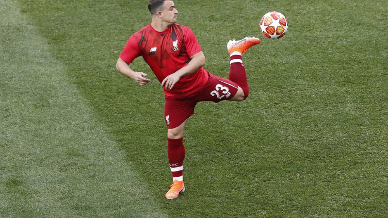 Football: Shaqiri manque le début de la préparation estivale avec le FC Liverpool