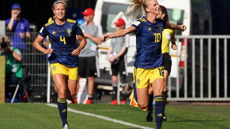 Football- Mondial féminin 2019: la Suède sort l'Allemagne et se qualifie pour les demies