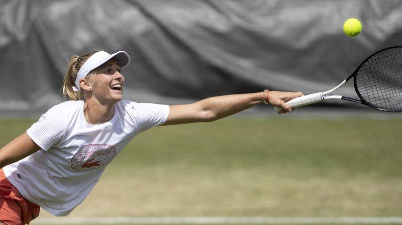 Tennis - Wimbledon: Jil Teichmann éliminée après une défaite rageante