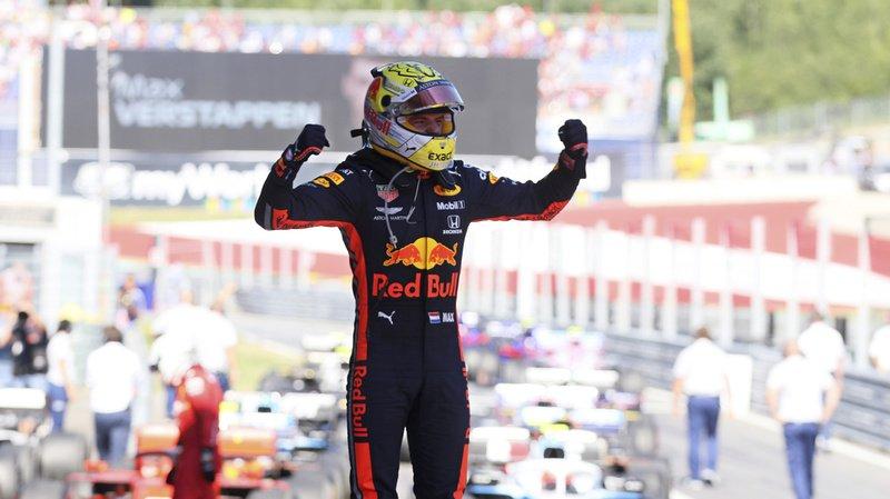 Max Verstappen a remporté le Grand Prix d'Autriche dimanche.