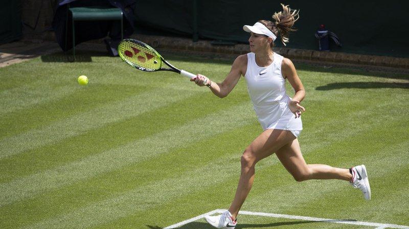 Tennis – Wimbledon: Belinda Bencic se qualifie pour les seizièmes de finale