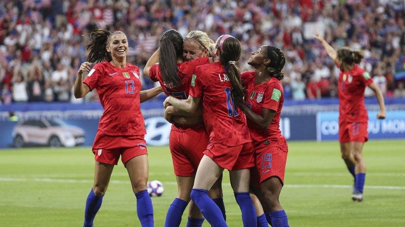 Football - Mondial féminin 2019: les Etats-Unis souffrent contre l'Angleterre, mais filent en finale