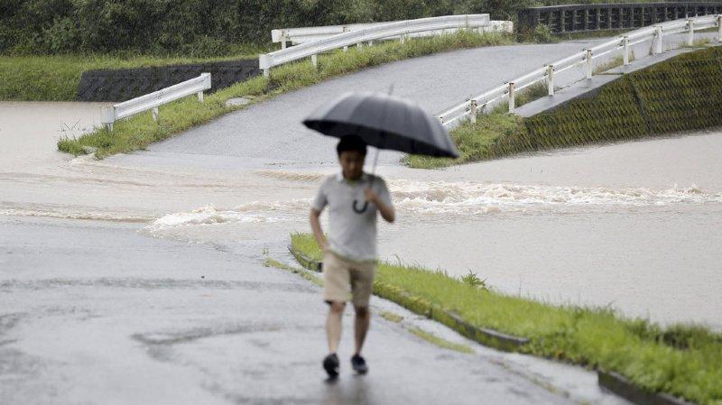 Japon: évacuation de 1,1 million d'habitants à cause des pluies torrentielles