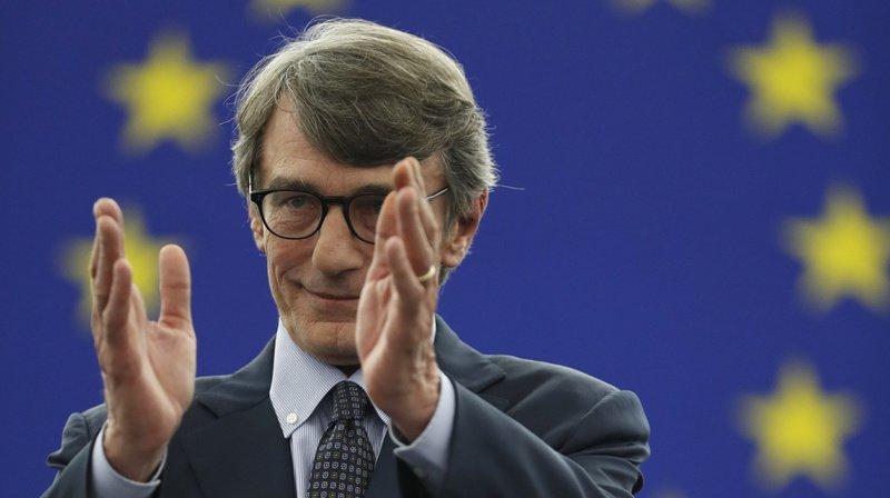 Union européenne: l'Italien David Sassoli élu président du Parlement européen