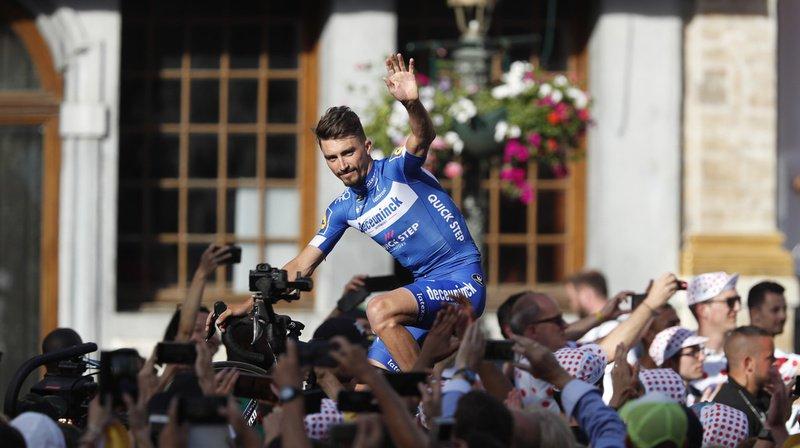 Cyclisme - Tour de France: Julian Alaphilippe remporte la 3e étape et s'empare du maillot jaune