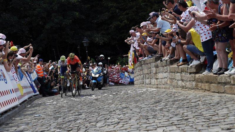 Cyclisme - Tour de France: Teunissen premier maillot jaune lors de l'étape initiale à Bruxelles