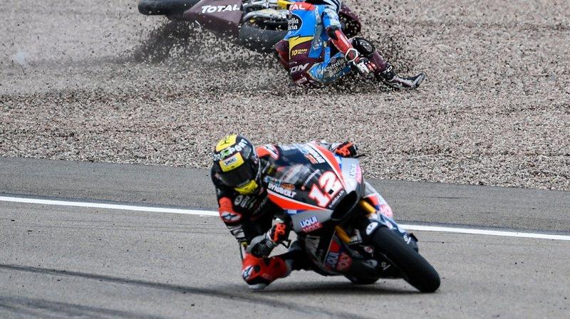 Moto2 - GP d'Allemagne: Lüthi limite la casse, mais perd la tête du classement général