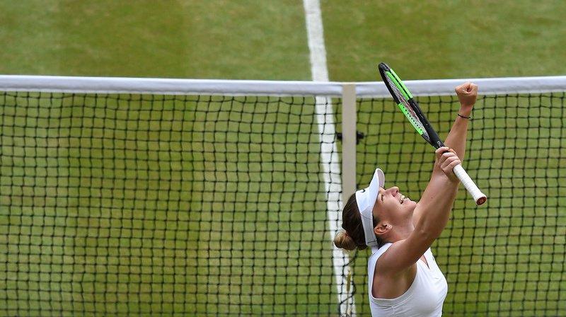 Tennis: Simona Halep remporte la finale de Wimbledon face à Serena Williams