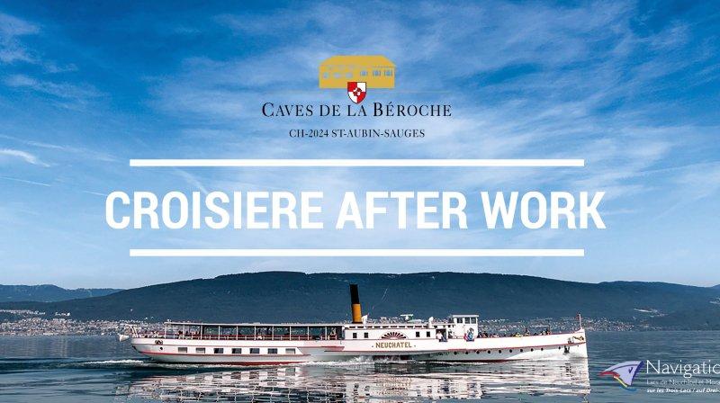 Croisière after work - Caves de la Béroche