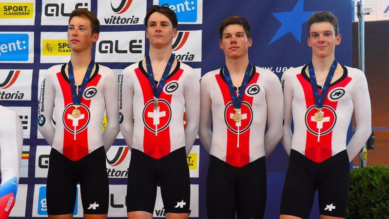 Deuxième médaille pour Valère Thiébaud aux championnats d'Europe espoirs