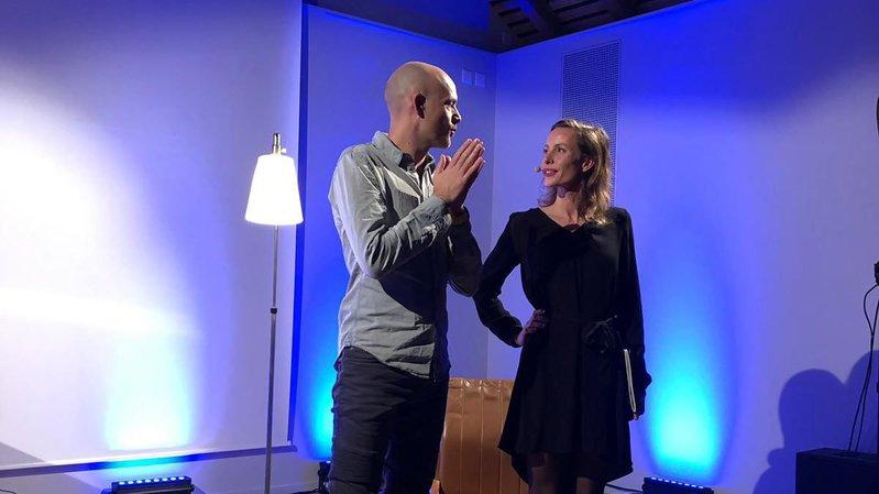 Cernier: Mélanie Chappuis et Jérémie Kisling en toute intimité à Poésie en arrosoir