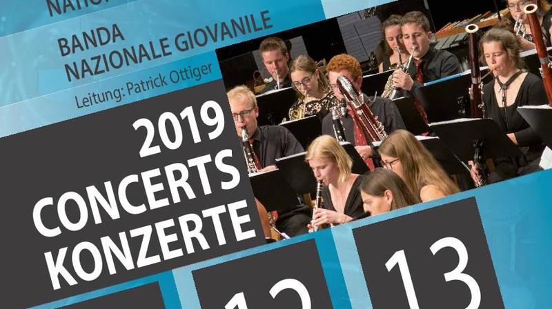Concert de l'Harmonie Nationale des Jeunes