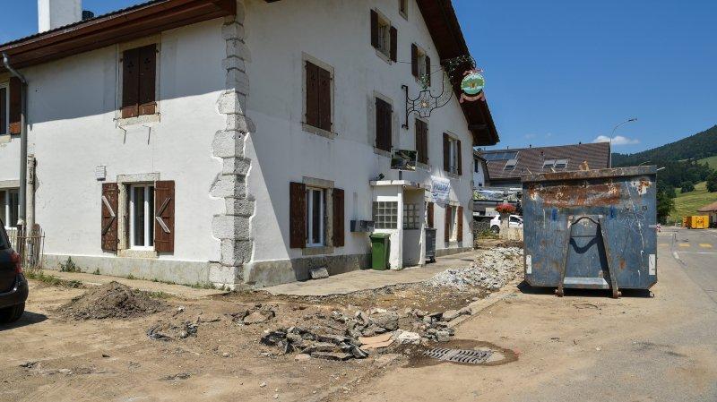 Val-de-Ruz: qui remboursera les dégâts des sinistrés?