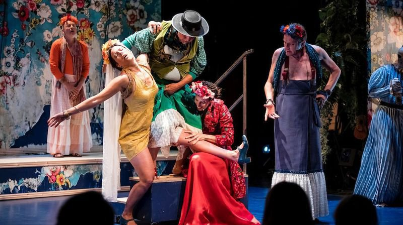 «Frida jambe de bois», un hymne à la vie à Poésie en arrosoir