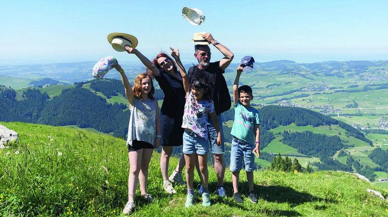 Un week-end sans voiture (1/6): voyage en Appenzell, le pays du bleu et du vert