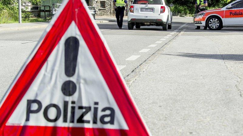 Fourgon blindé attaqué au Tessin: vaste opération de police en cours