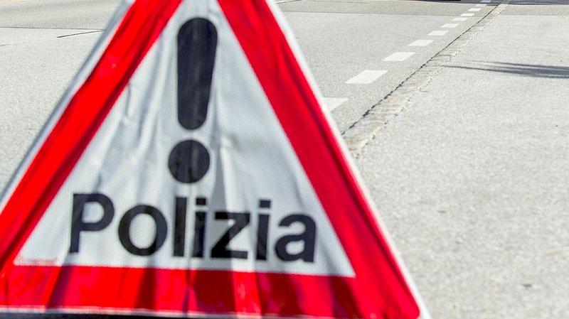 La police tessinoise a indiqué un blessé grave dans l'accident.