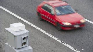 Jura: flashé à 154 km/h sur une route à 80 km/h