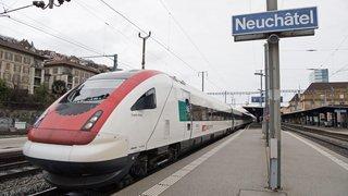 Trafic ferroviaire rétabli entre Neuchâtel et La Chaux-de-Fonds