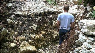 Combe Biosse: sentier pédestre fermé pour plusieurs mois