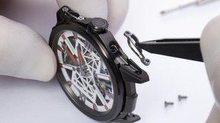 L'horloger loclois Ulysse Nardin s'inspire d'un exosquelette