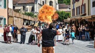 Sur leur 31 pour les Médiévales de Saint-Ursanne