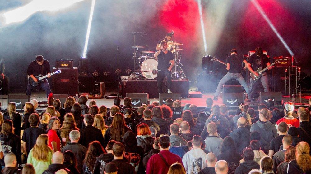 Quelque 10 000 festivaliers sont attendus au Rock Altitude Festival cette année.