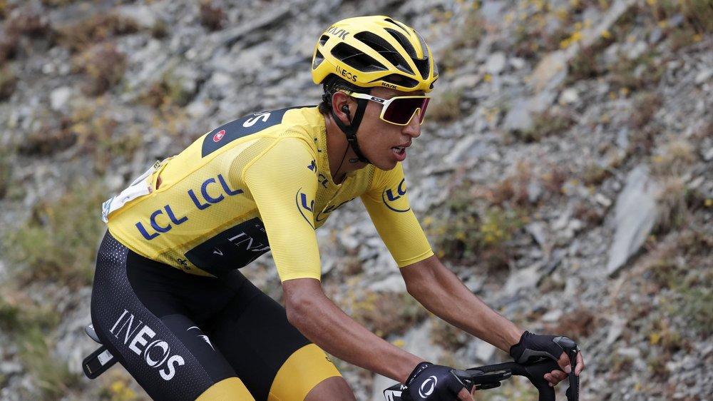 Egan Bernal, vainqueur du Tour de France 2019 à 22 ans.