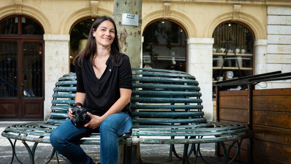 La Neuchâteloise Orane Burri se bat pour l'égalité hommes-femmes dans le monde du cinéma.