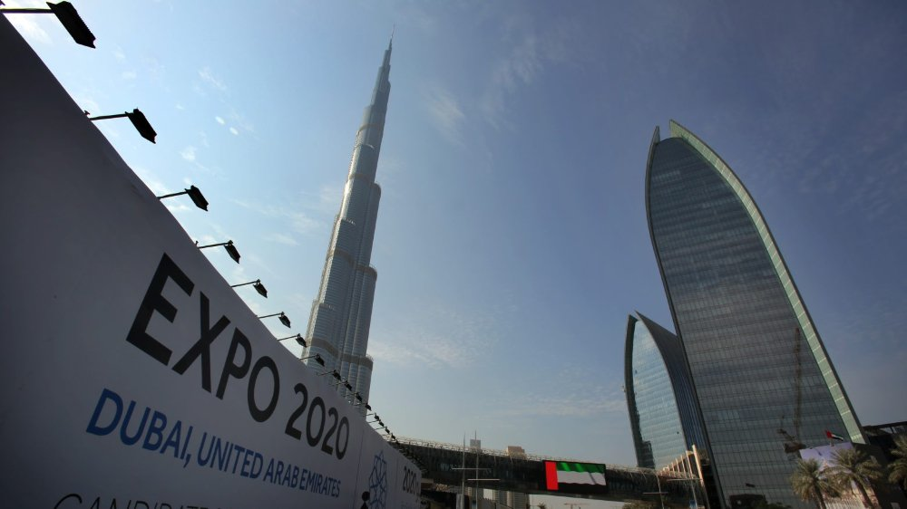 L'architecture futuriste de Dubaï sera mise en avant lors de l'Expo universelle de 2020.
