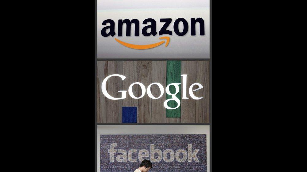 Amazon, Google, Facebook, voire Apple et Twitter sont dans le collimateur des procureurs fédéraux.