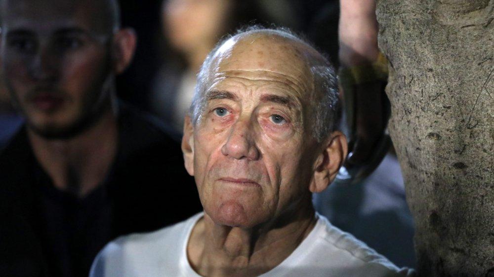 Ehud Olmert, ex-premier ministre israélien, en mai 2019.