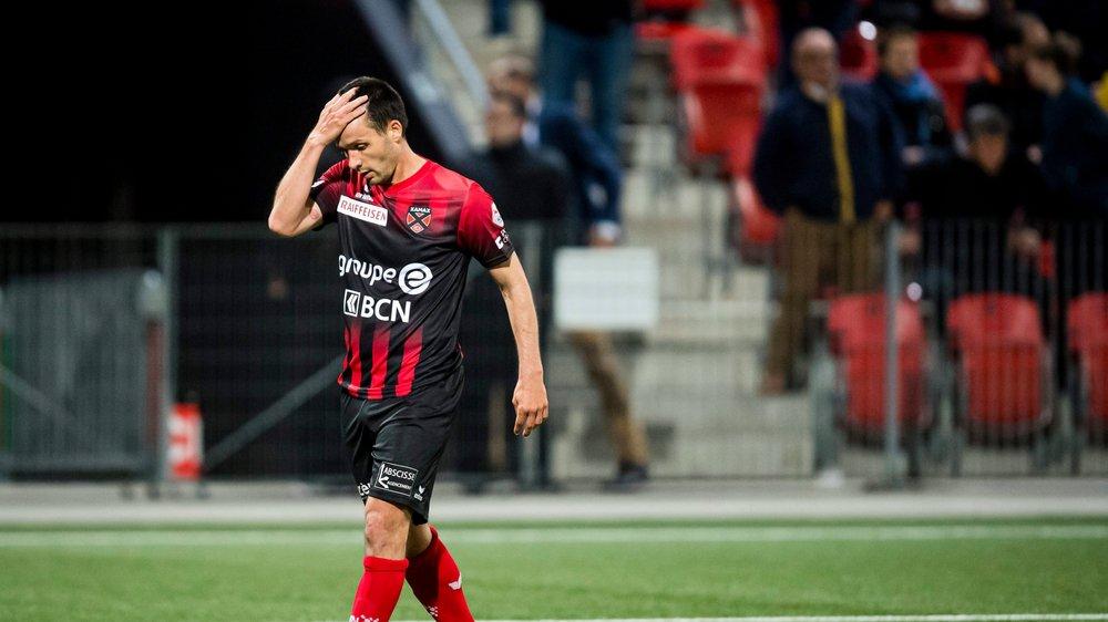 L'affaire est close, Raphaël Nuzzolo n'a pas craché sur l'arbitre du barrage aller contre Aarau en mai dernier.