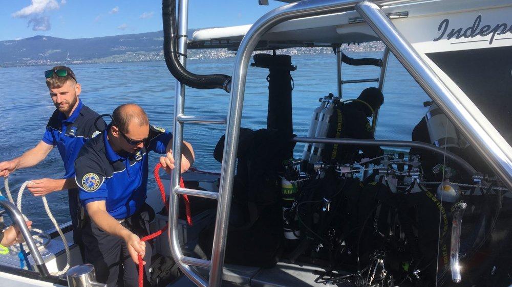 Un maximum d'éléments sont réglés à bord avant l'immersion. D'où un important travail de coordination entre les équipes.
