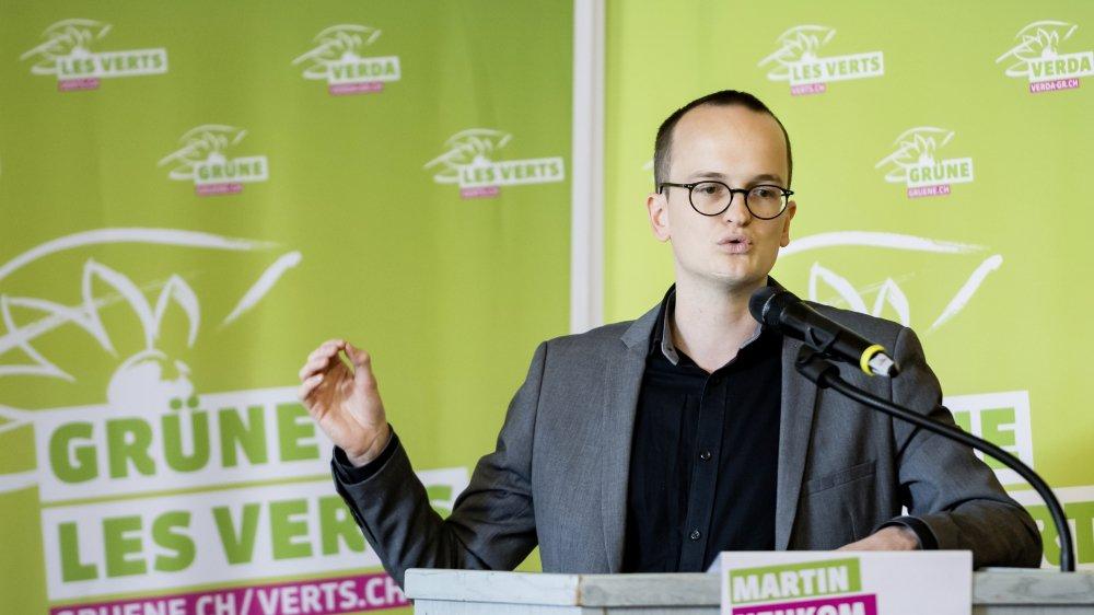 En ayant fait son entrée au Conseil d'Etat zurichois, Martin Neukom symbolise la réussite actuelle des Verts en Suisse.
