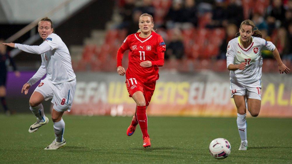 Lara Dickenmann ne portera plus le maillot de l'équipe de Suisse.