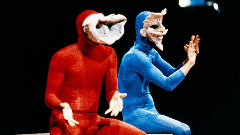 Avant de connaître une consécration mondiale, le Cirque du Soleil et les Mummenschanz (en photo) ont été applaudis sous son chapiteau par des célébrités.