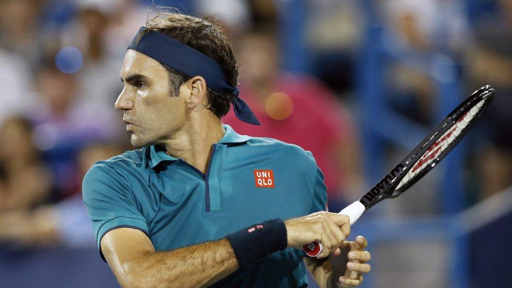 Une reprise en douceur pour Roger Federer.