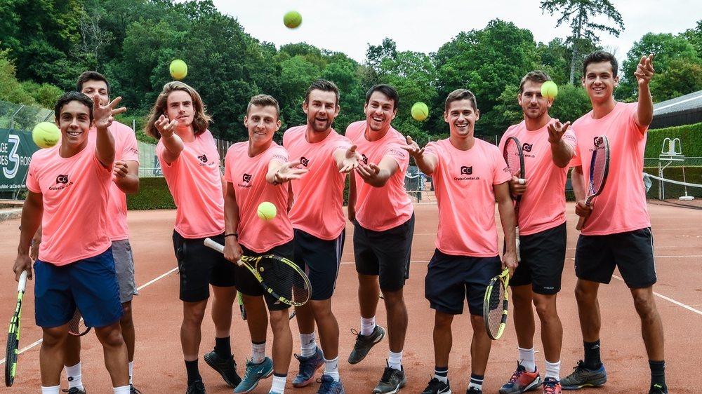 L'équipe du CT Neuchâtel-Les Cadolles en piste pour la Ligue A.