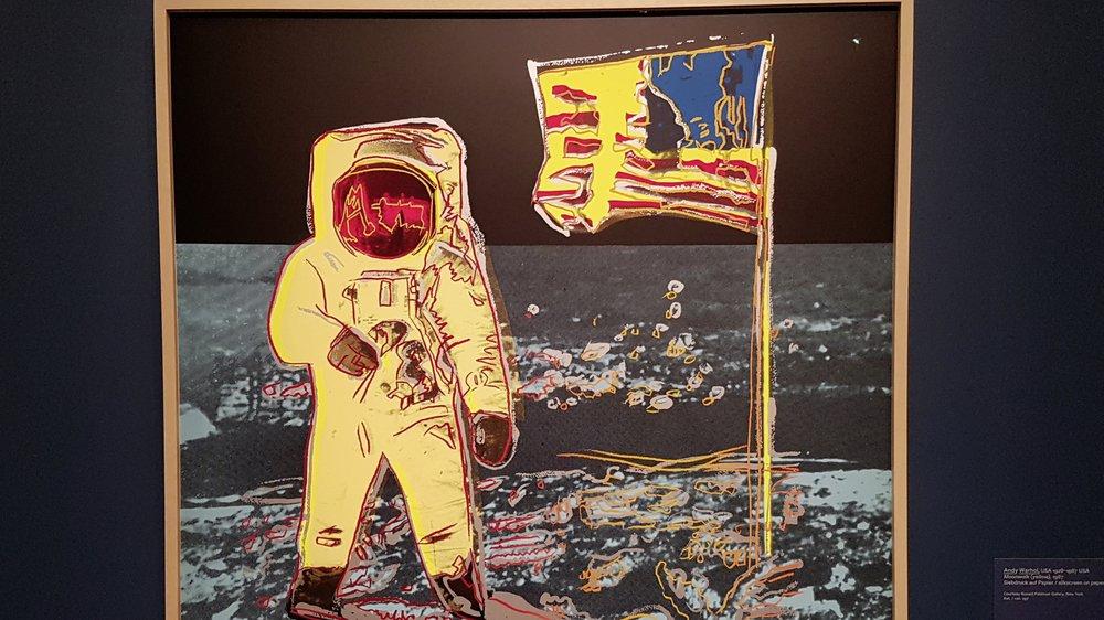 «Moonwalk» d'Andy Warhol (1987).