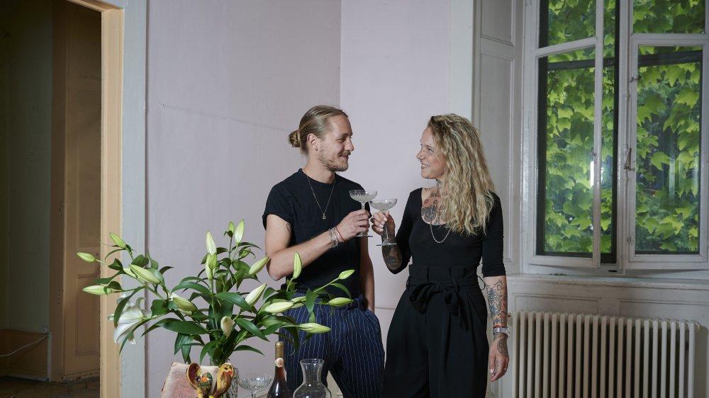 Un projet culturel aux petits oignons concocté par Arpad Antonietti et Julie Houriet.